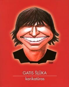 grāmata, Gatis Šļūka karikatūras, vāks