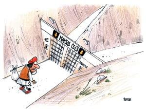 Grieķija karikatūra, Gatis Šļūka, drahma, eiro