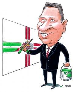 Karikatūra Raimonds Vējonis, Latvijas prezidents