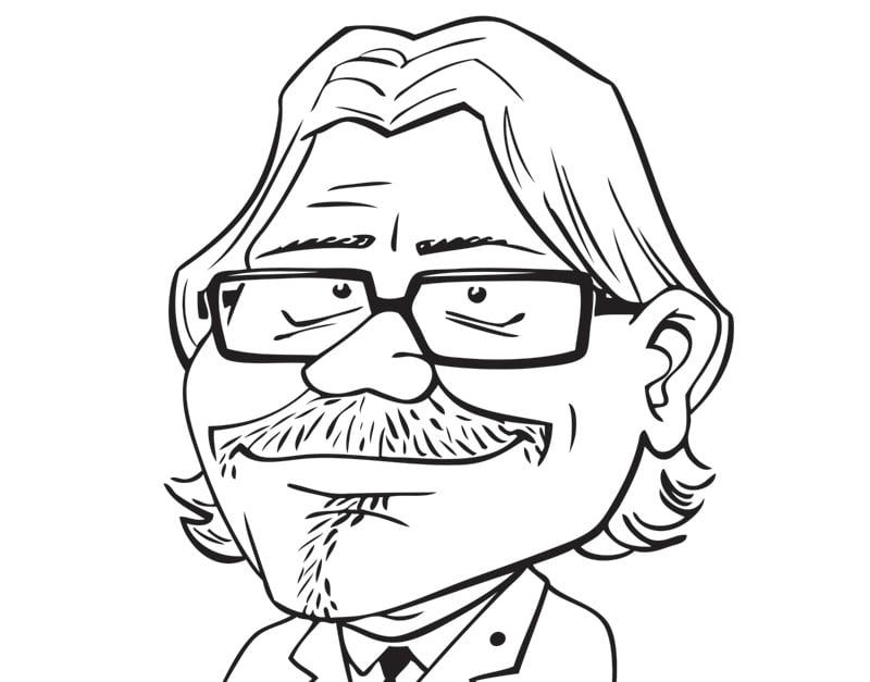 Ķirsons, karikatūra, galleria rīga, Gatis Šļūka