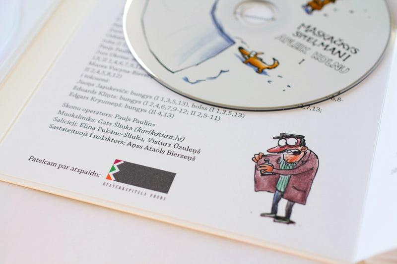 Maskačkys spieļmani, Apleik kolnu, jaunais CD, Gatis Šļūka
