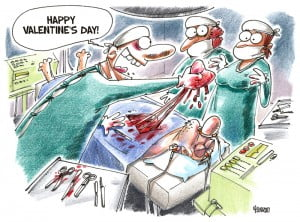 Love cartoon, Valentine's day, Gatis Sluka