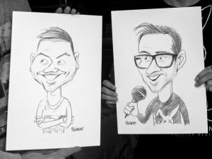 Musiqq, Bermudu divstūris, dāvana, karikatūra, Gatis Šļūka, dāvana - karikatūra