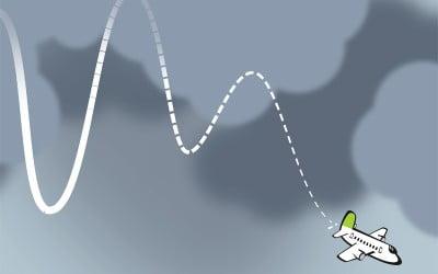 airBaltic nesenā vēsture karikatūrās