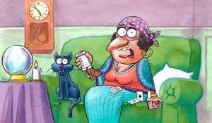 zīlniece, kaķis, LTAB OCTA app, Gatis Šļūka, karikatūra