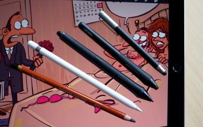 iPad Pro un Apple Pencil zīmēšanas iespējas