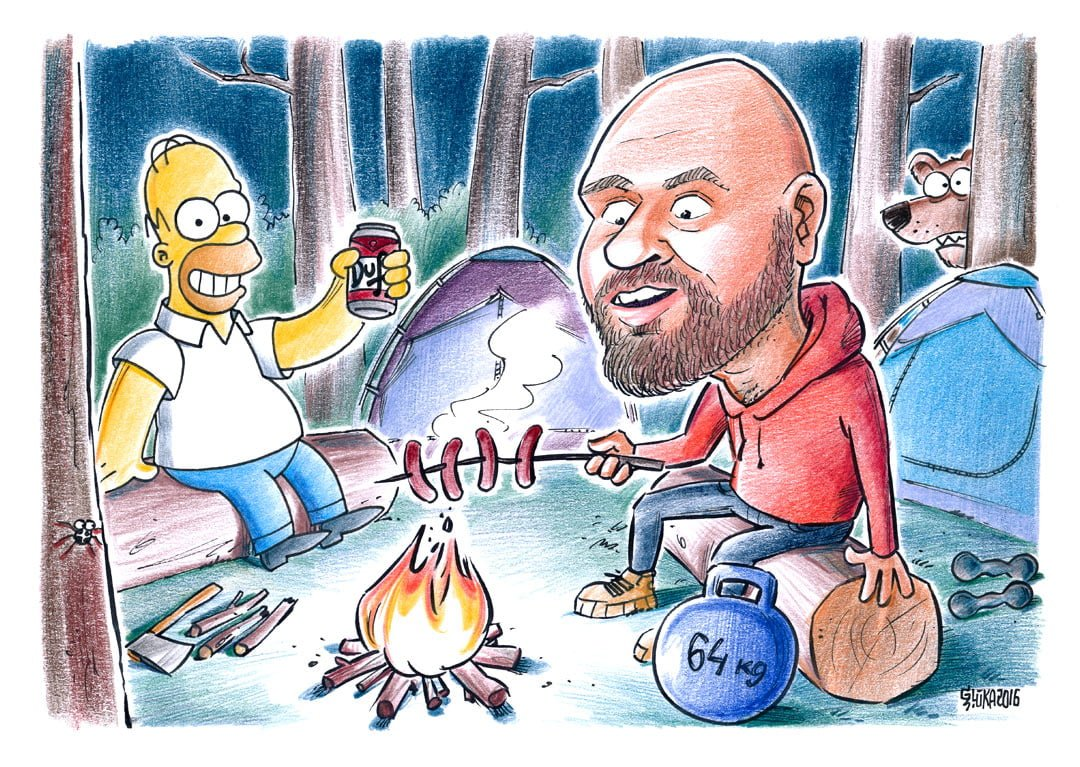 karikatūra pēc pasūtījuma, individuālā karikatūra