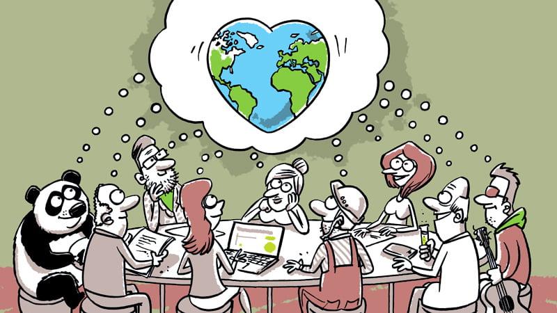 100 darbi Latvijai, ZAAO, Gatis Šļūka, karikatūra