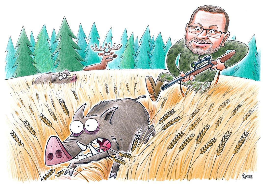 Karikatūras dāvana, dāvanā karikatūra