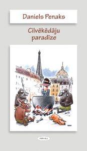 Cilvēkēdāju paradīze grāmatas vāks, ilustrācija Gatis Šļūka