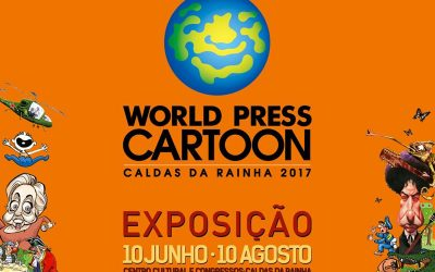 Mana karikatūra izstādē World Press Cartoon 2017