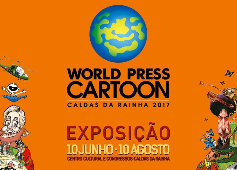World Press Cartoon karikatūru izstāde Portugālē, WorldPressCartoon 2017