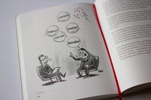 karikatūra, grāmata, Īsi par demokrātiju