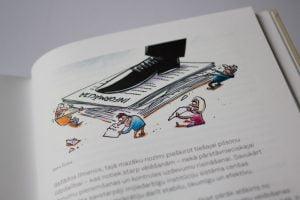 Karikatūra, informācija, Gatis Šļūka