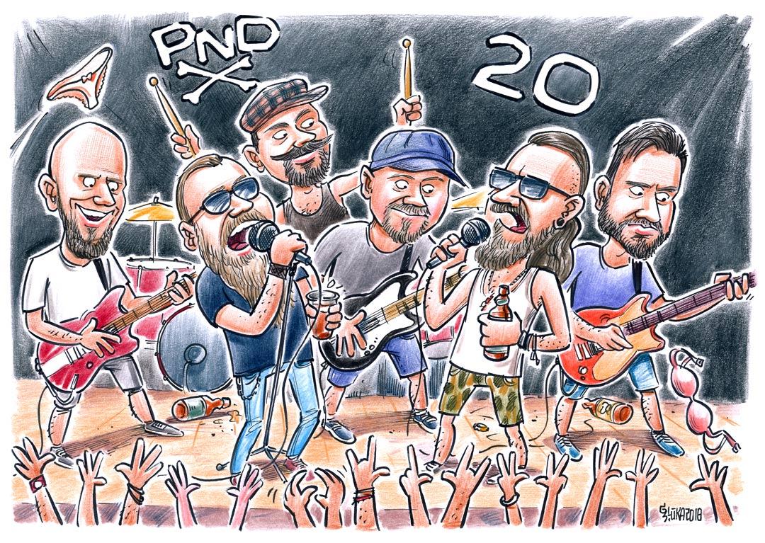 PND karikatūra kā dāvana