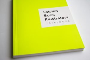 Latvian illustrators, catalogue, book