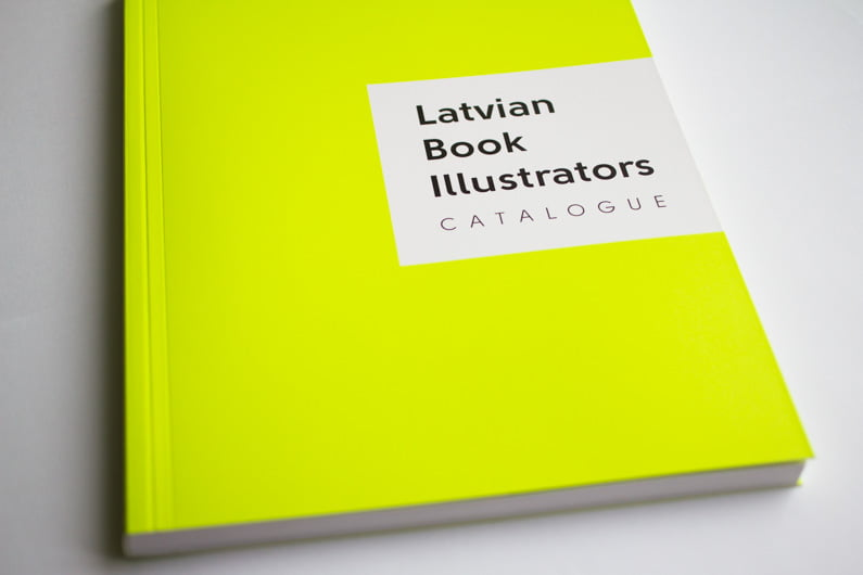 Latvian Book Illustrators catalogue