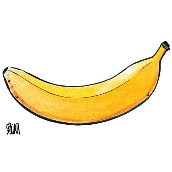 Banāna t-krekls, karikatūru veikals