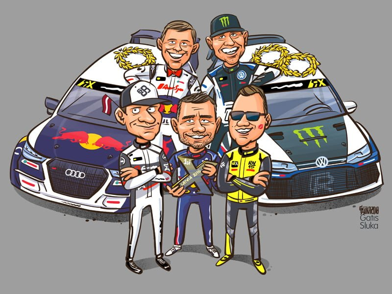World Rallycross Championship t-shirt