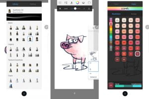 Best drawing app Autodesk Sketchbook review