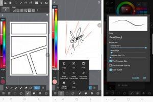 Labākā zīmēšanas lietotne Medibang Paint review