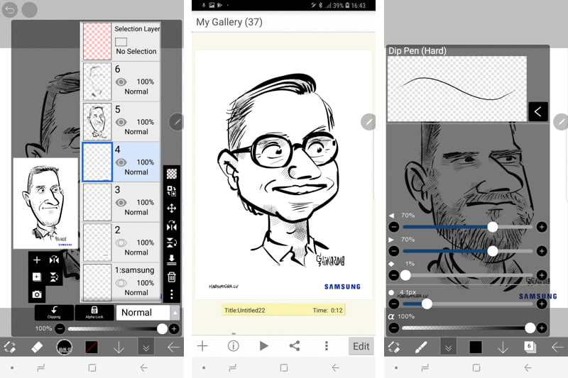 Best drawing app ibis Paint X review