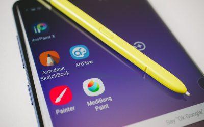 Piecas labākās zīmēšanas lietotnes Android ierīcēs