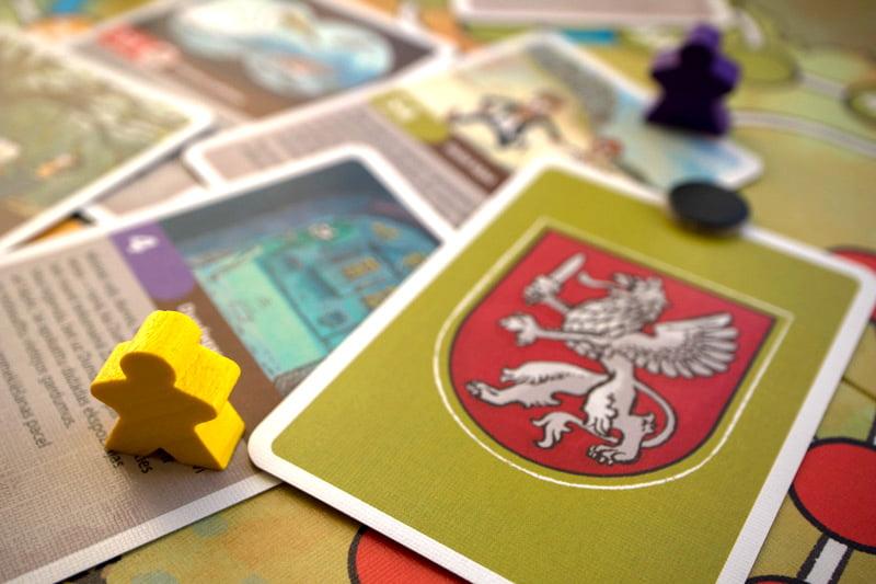 Latvijas spēle, galda spēle, Gata Šļūkas ilustrācijas