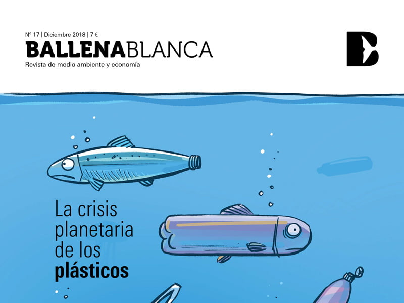 Cartoon for Spanish magazine Ballena Blanca