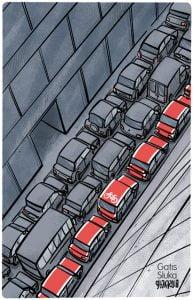WPC exhibition cartoon
